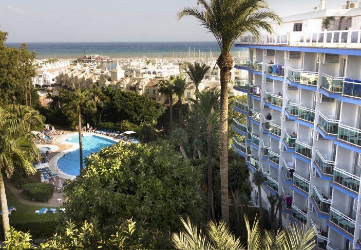 Hotel Palmasol - Aerial View 6