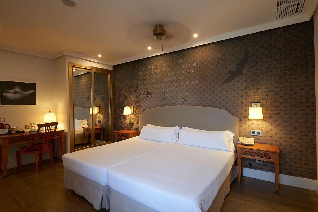Habitación doble vista mar Hotel Fenix