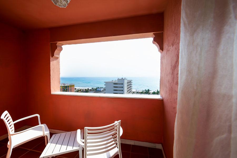 Habitación Hotel Fenix vista al Mar