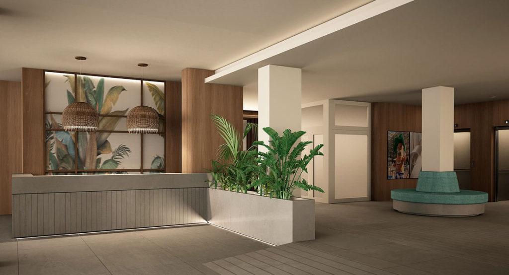Recepción Hotel Eurosalou